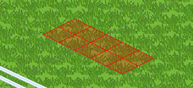 """The Trees appear as red squares when """"Show Trees"""" is disabled in Preferences."""