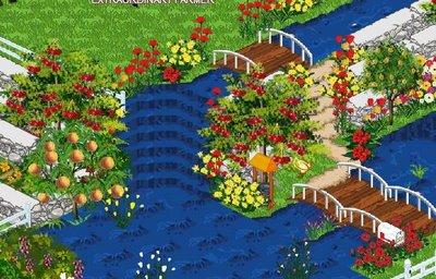 Farm Town Waterfall